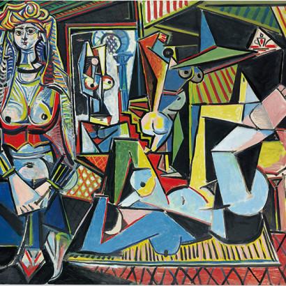 As Mulheres de Argel - Pablo Picasso