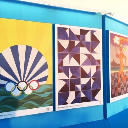 juarez machado poster oficial olimpiadas